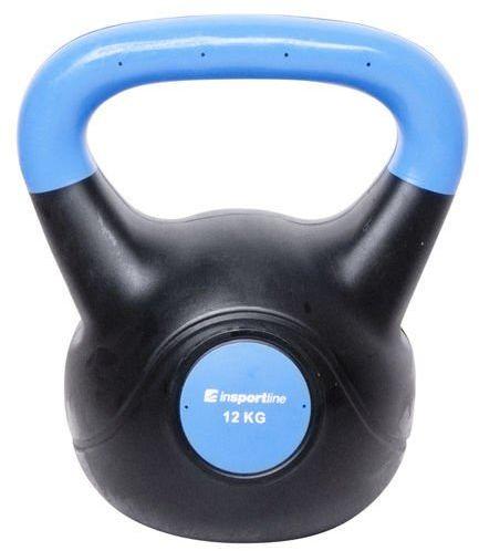 Kettlebell bitumiczny Dark Insportline 12 kg