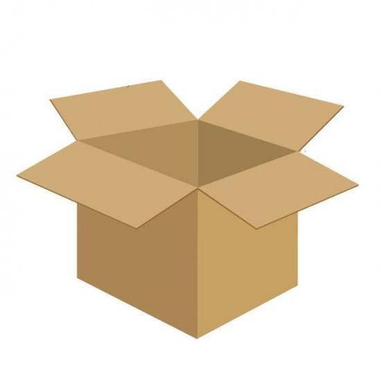 Karton klapowy tekt 3 - 410 x 350 x 360 470g/m2 fala C
