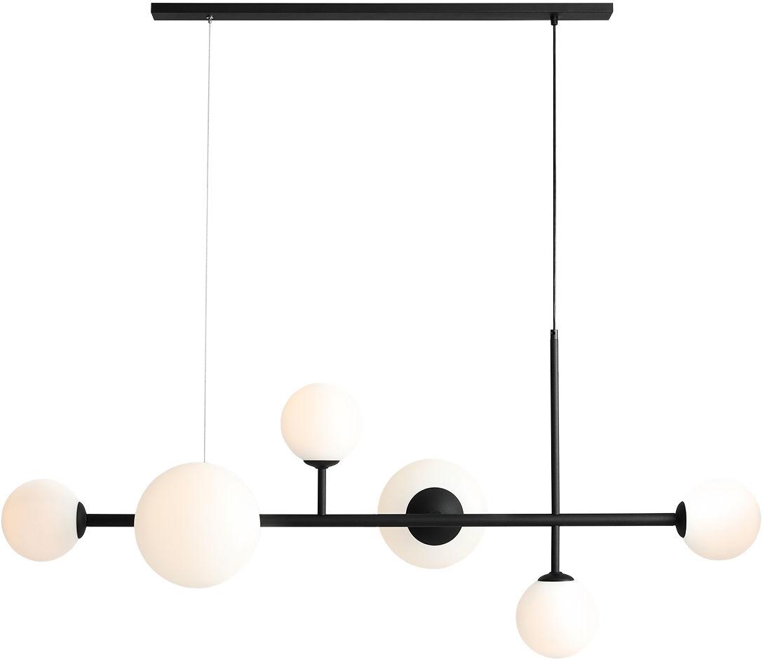 Lampa wisząca czarna BALIA 1039K1 Aldex nowoczesna lampa designerska