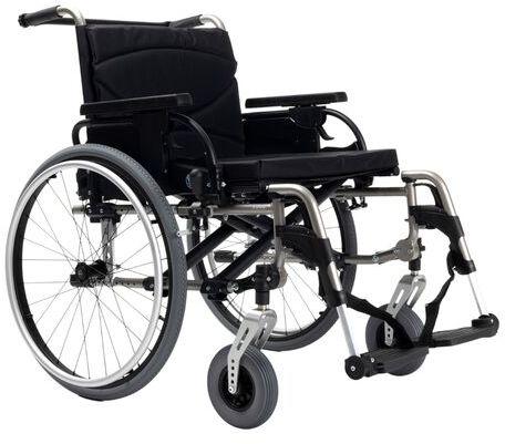 Wózek inwalidzki V300 XL Vermeiren ze stopów lekkich - do 170 kg
