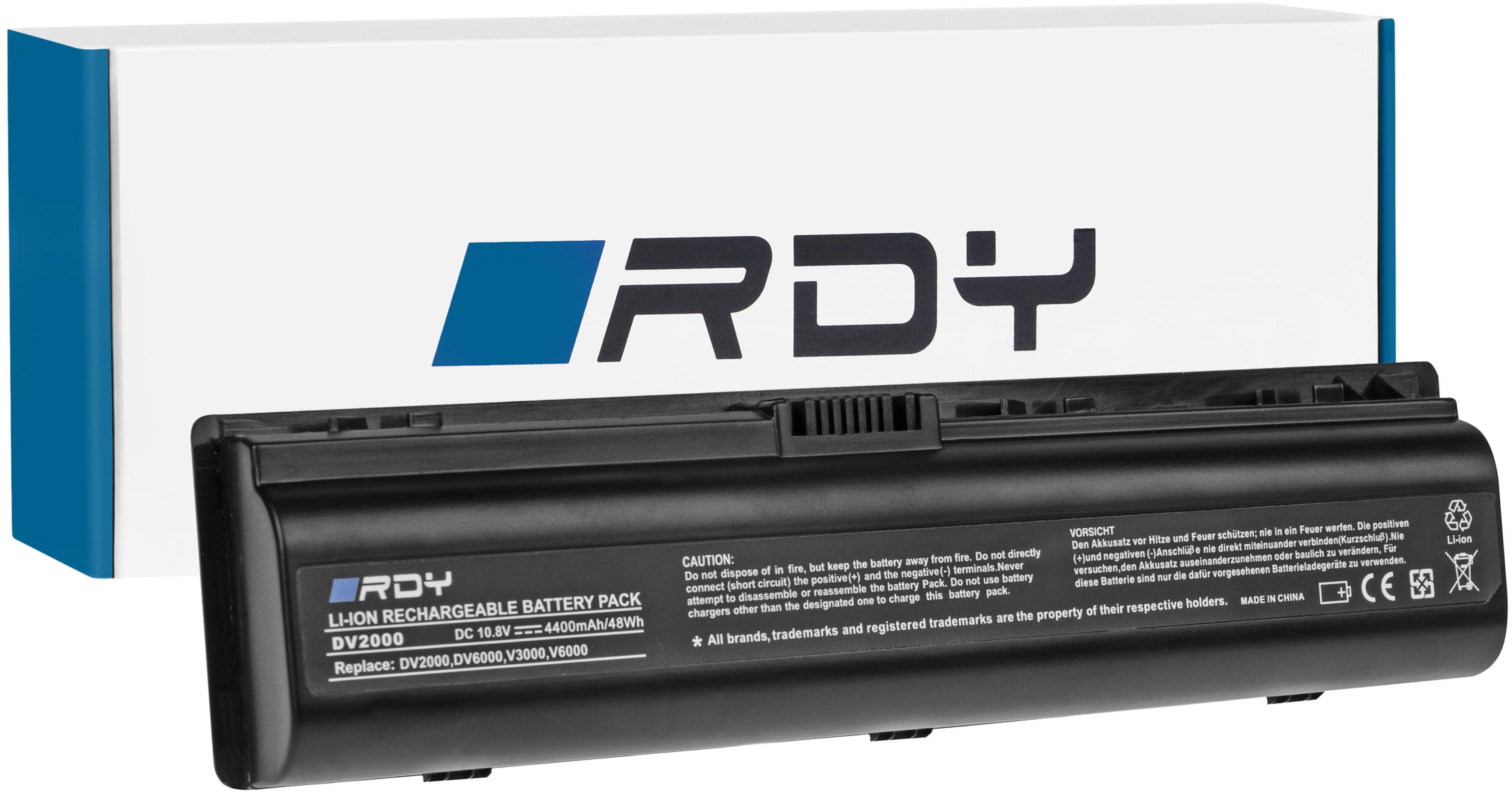 Bateria RDY HSTNN-LB42 do HP Pavilion DV2000 DV6000 DV6500 DV6700