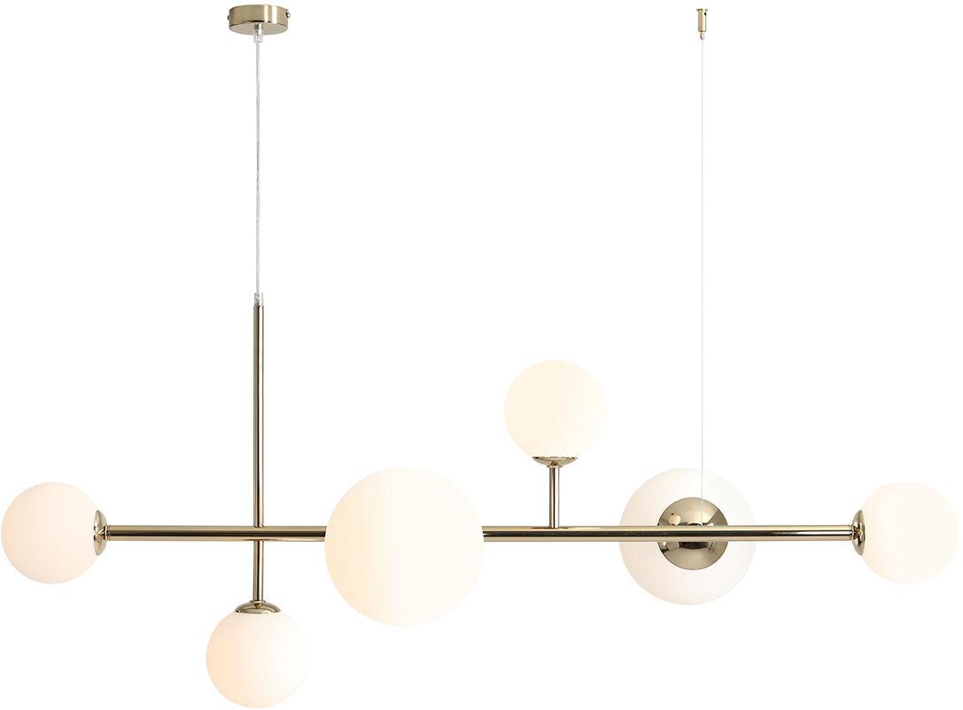 Lampa wisząca złota BALIA 1039K30 Aldex nowoczesna lampa designerska