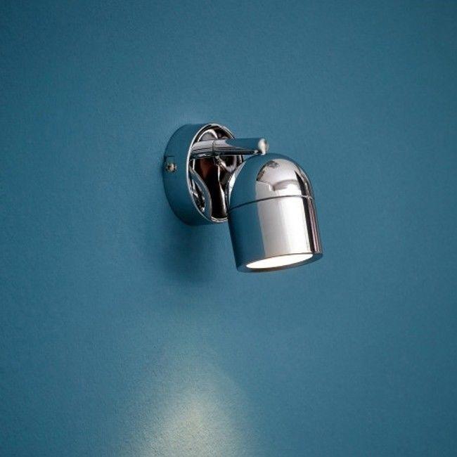 Spot kinkiet łazienkowy Colours Genlis 1 x 20 W GU10 IP44 chrom