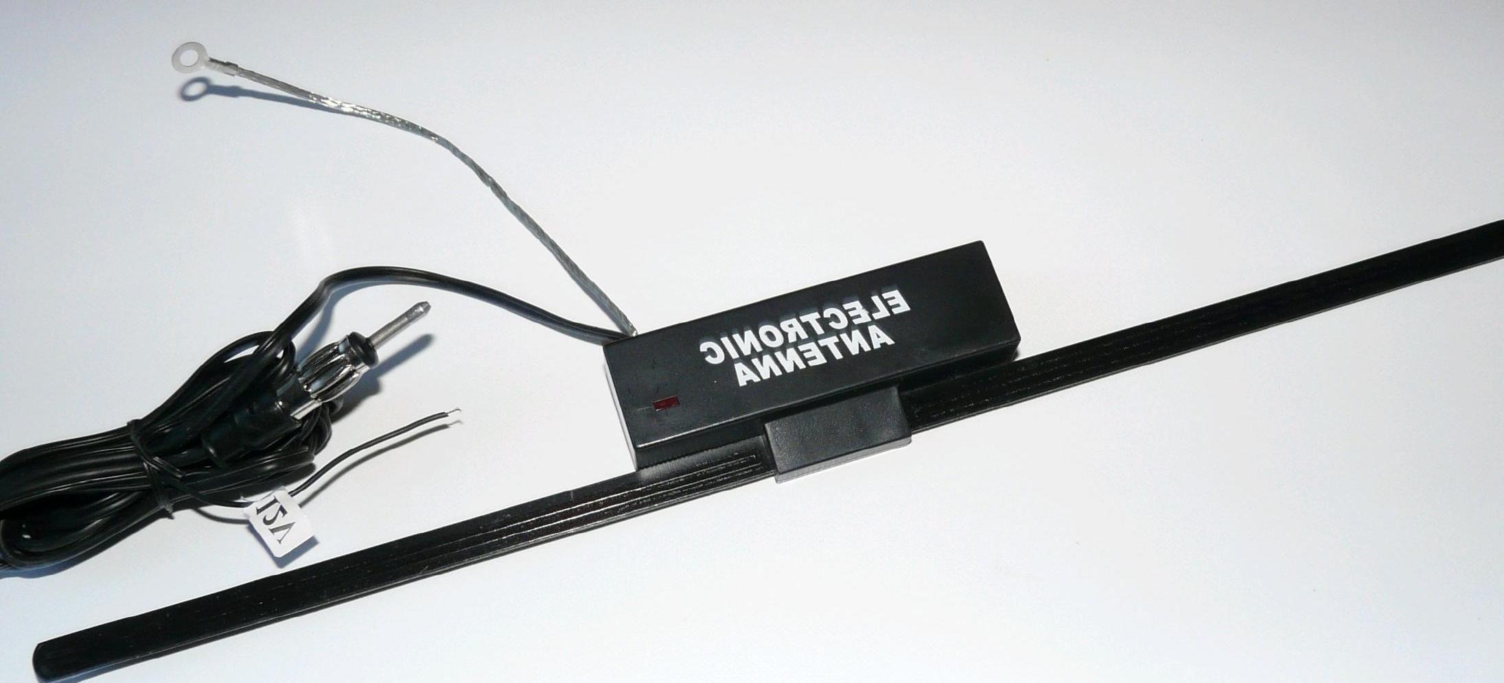 AN223 Antena samochodowa wewnętrzna ze wzmacniaczem WIT-223