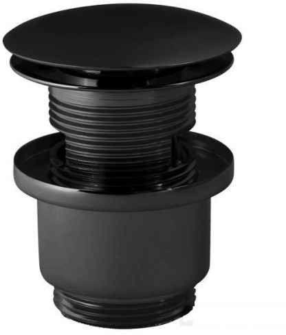 Paffoni korek umywalkowy klik-klak czarny - ZSCA050NO