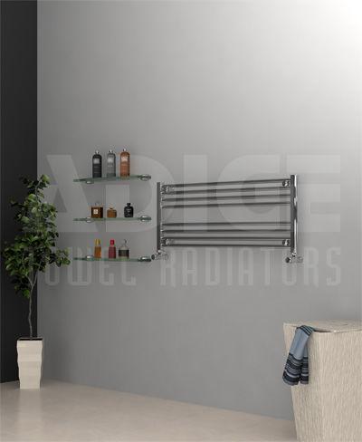 Grzejnik łazienkowy drabinkowy chrom - 1000/400