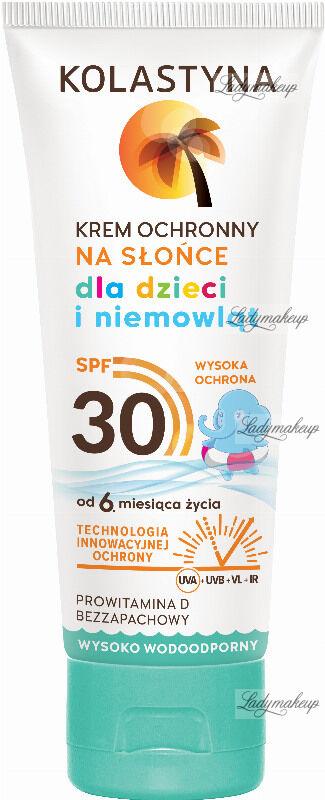 KOLASTYNA - Krem ochronny na słońce dla dzieci i niemowląt - SPF30 - 75 ml
