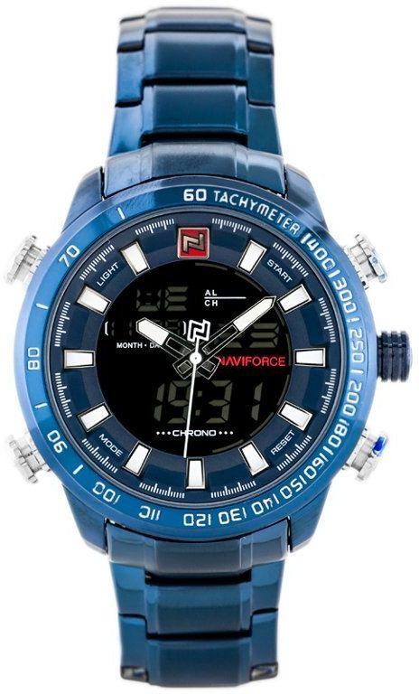 ZEGAREK MĘSKI NAVIFORCE - NF9093 (zn041f) - blue