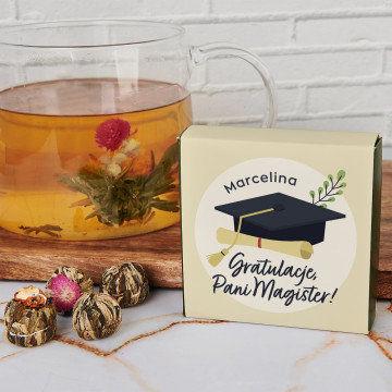 Gratulacje, Pani Magister - Herbata kwitnąca