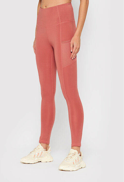 Legginsy SPDF601 Różowy Slim Fit