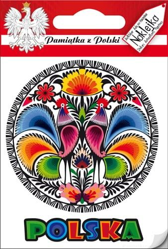 Naklejka pojedyncza - Polska - wycinanka 01