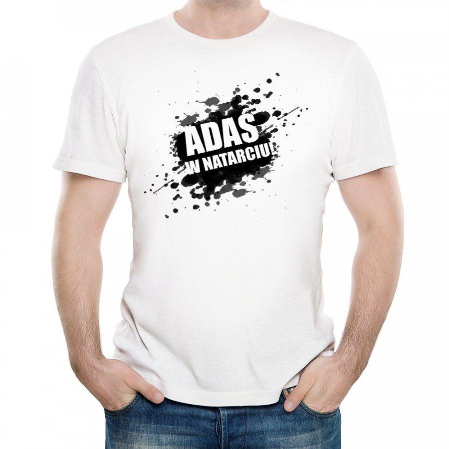 Koszulka Męska z Twoim Nadrukiem W NATARCIU