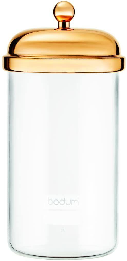 Bodum Classic szklany pojemnik, złoty, 1 l