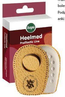 Skórzane Podpiętki na OSTROGI i bolące pięty Heelmed