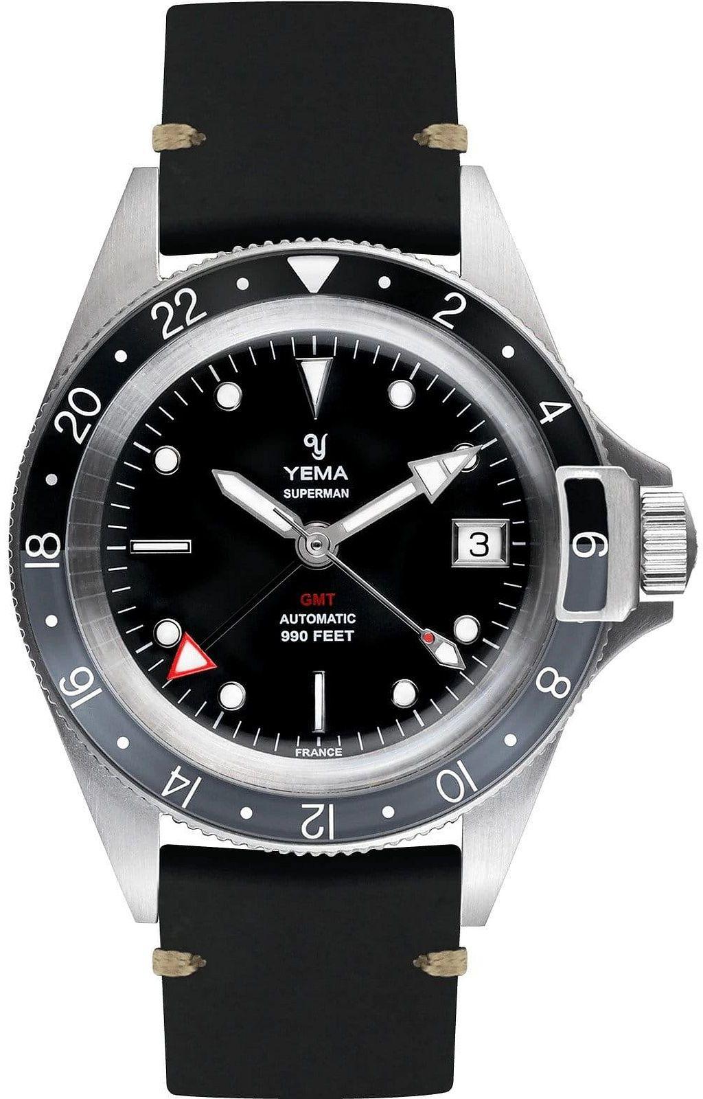 Zegarek męski Yema Superman GMT