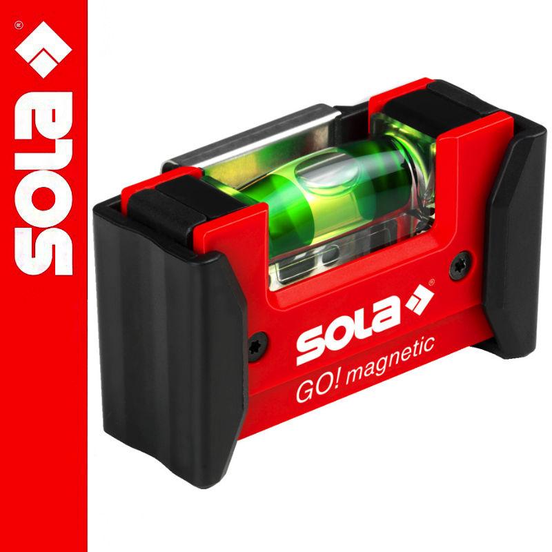 Poziomica magnetic KLIPS GO! SOLA