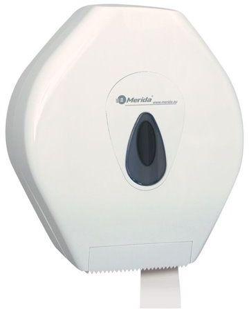 Pojemnik na papier toaletowy Merida Top Mega, okienko szare