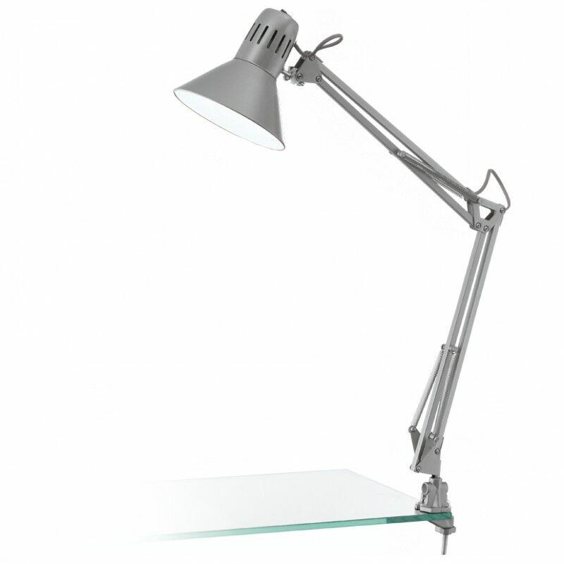 Lampa biurkowa z klipsem FIRMO 90874  Eglo  Skorzystaj z kuponu -10% -KOD: OKAZJA