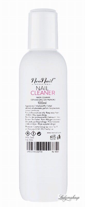 NeoNail - NAIL CLEANER - Odtłuszczacz do paznokci - 100 ml - ART. 1051