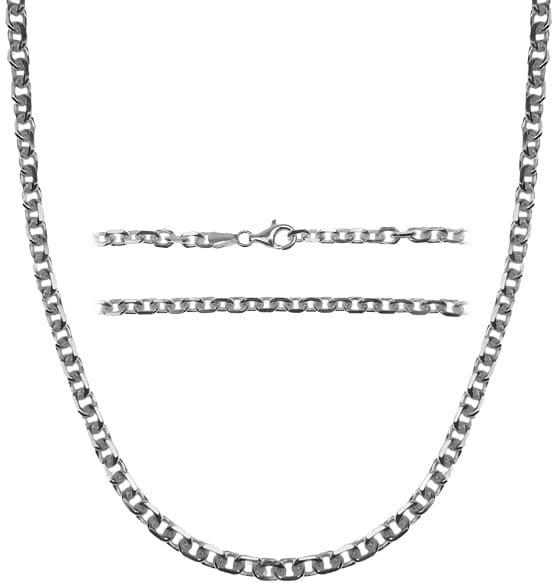 Łańcuch srebrny Anker