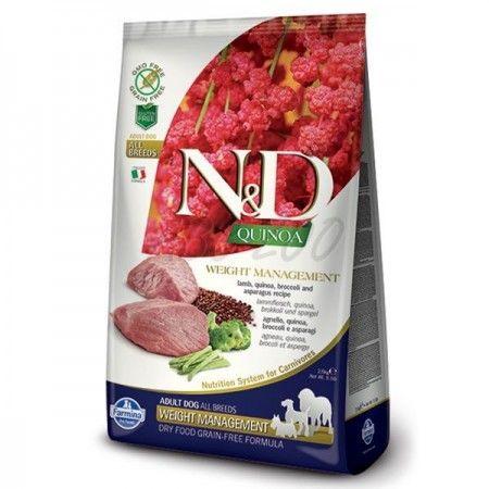 N&D DOG QUINOA DIGESTION LAMB FENNEL 2,5 KG