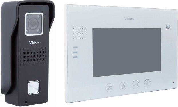 Wideodomofon vidos m670w/s6b - szybka dostawa lub możliwość odbioru w 39 miastach
