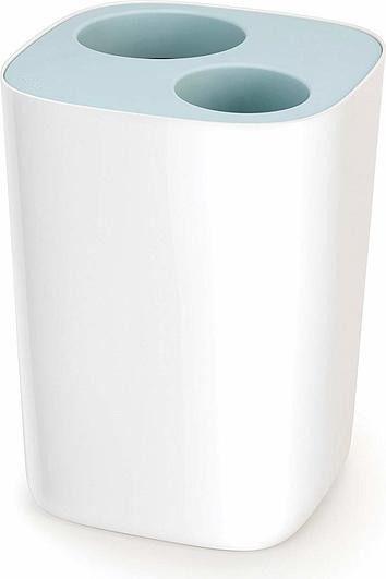 Kosz łazienkowy do segregacji odpadów split niebieski