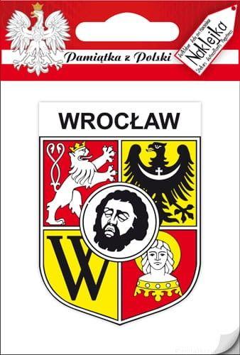 Naklejka pojedyncza - herb - Wrocław