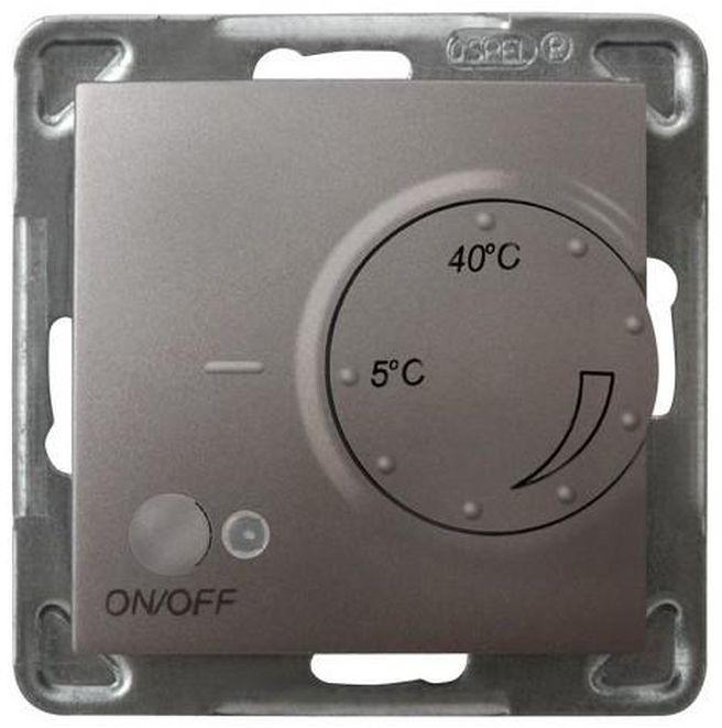 IMPRESJA Regulator temperatury /czujnik napowietrzny/ tytan RTP-1YN/m/23