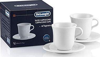 DeLonghi 5513283731 DLSC309 filiżanki ceramiczne do cappuccino Tognana 2 szt.