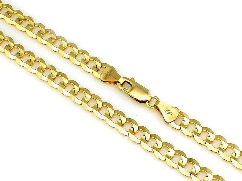Złoty łańcuszek męski 585 splot pancerka 60 cm 27,28 g