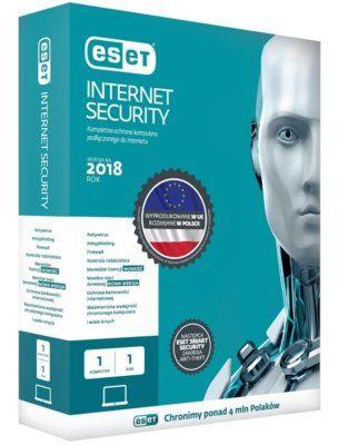 Antywirus ESET Internet Security 1 URZĄDZENIE 2 LATA Kod aktywacyjny Dogodne raty! DARMOWY TRANSPORT!