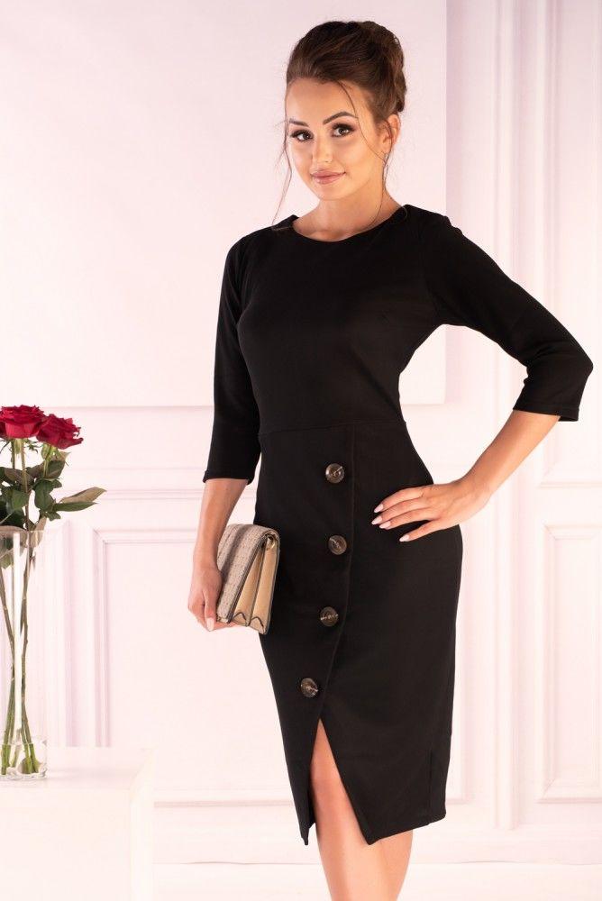 Naomia Black 85582 sukienka