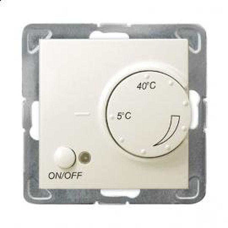 IMPRESJA Regulator temperatury /czujnik napowietrzny/ ecru RTP-1YN/m/27