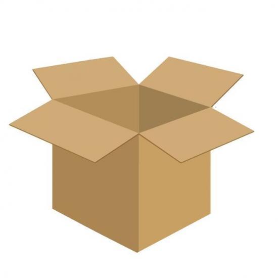 Karton klapowy tekt 3 - 400 x 300 x 400 450g/m2 fala C