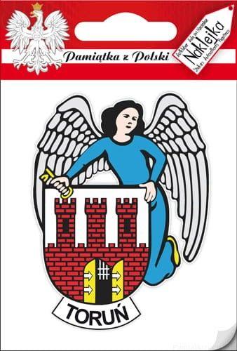 Naklejka pojedyncza - herb - Toruń