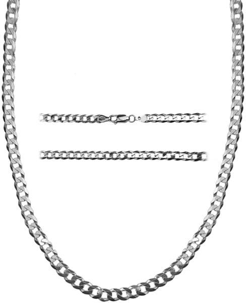 Łańcuch gruby, srebrny Pancerka