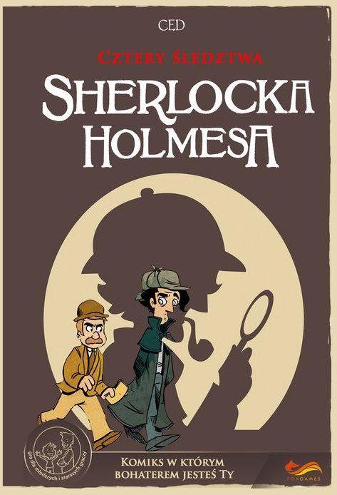 Cztery śledztwa Sherlocka Holmesa. Komiks paragrafowy