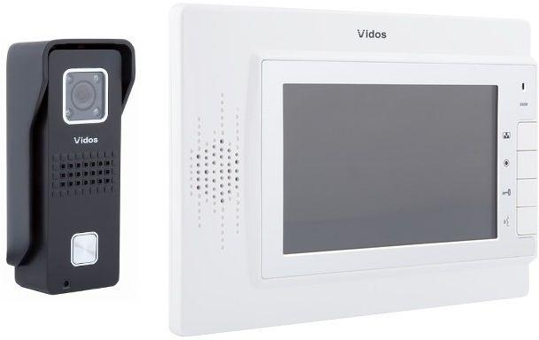 Wideodomofon vidos m320w/s6b - szybka dostawa lub możliwość odbioru w 39 miastach