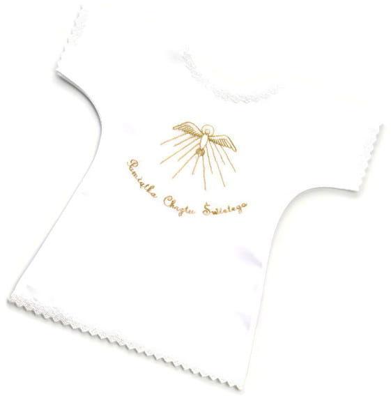 Koszulka do Chrztu Św. złota