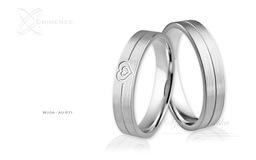 Obrączki ślubne - wzór Au-871