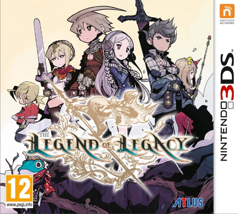 Gra Legend of Legacy (Nintendo 3DS)