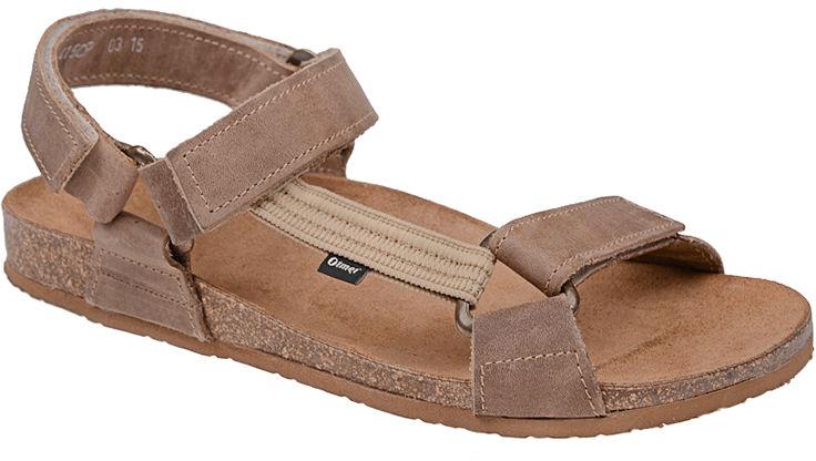 Sandały OTMĘT 415CP Beżowe NaturForm Fussbett Jezuski