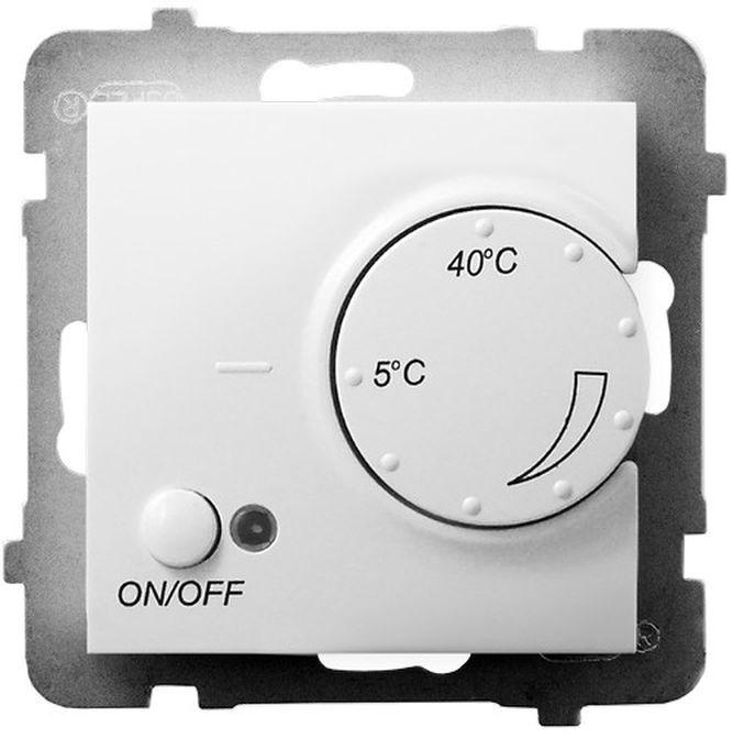 ARIA Regulator temperatury z czujnikiem podpodłogowym biały RTP-1U/m/00