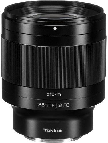 Tokina ATX-M 85mm F1.8 AF FE - obiektyw stałoogniskowy do Sony E Tokina ATX-M 85mm F1.8 AF FE