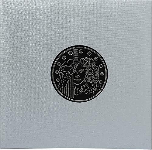 Exacompta Coin Album/segregator - srebrny