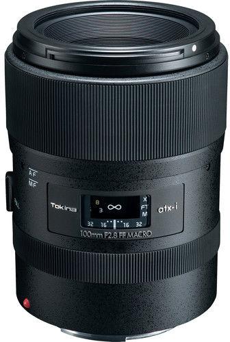 Tokina ATX-I 100mm F2.8 AF FF MACRO - obiektyw stałoogniskowy do Canon EF