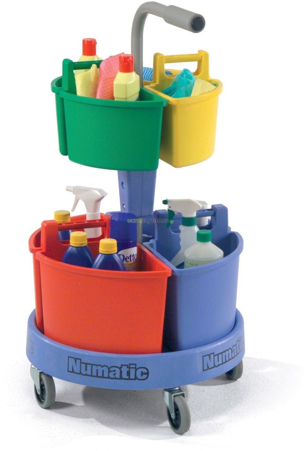 Numatic NC 4 - wózek do sprzątania