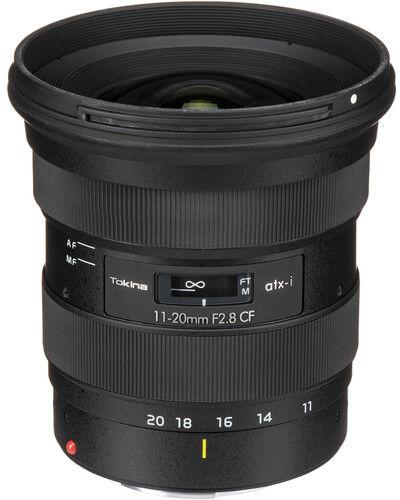 Tokina ATX-I 11-20mm F2.8 AF CF - obiektyw zmiennoogniskowy do Canon EF Tokina ATX-I 11-20mm F2.8 AF CF