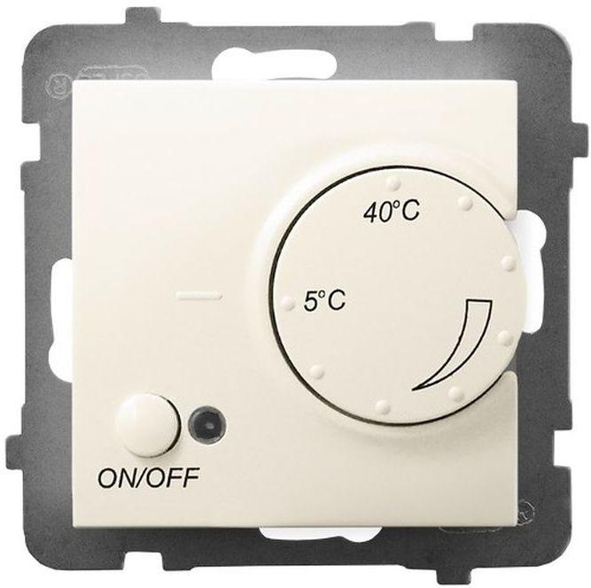 ARIA Regulator temperatury z czujnikiem napowietrznym ecru RTP-1UN/m/27